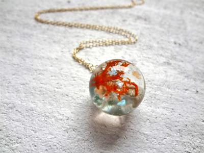 <SOLD> Seascape Necklace P