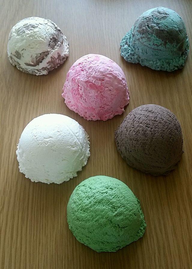 食品サンプル アイスクリーム 6...