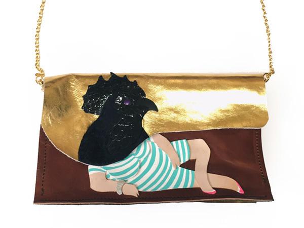 montage bag【チャボババ】※特別出品