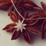 K10/diamond necklace『star anise』
