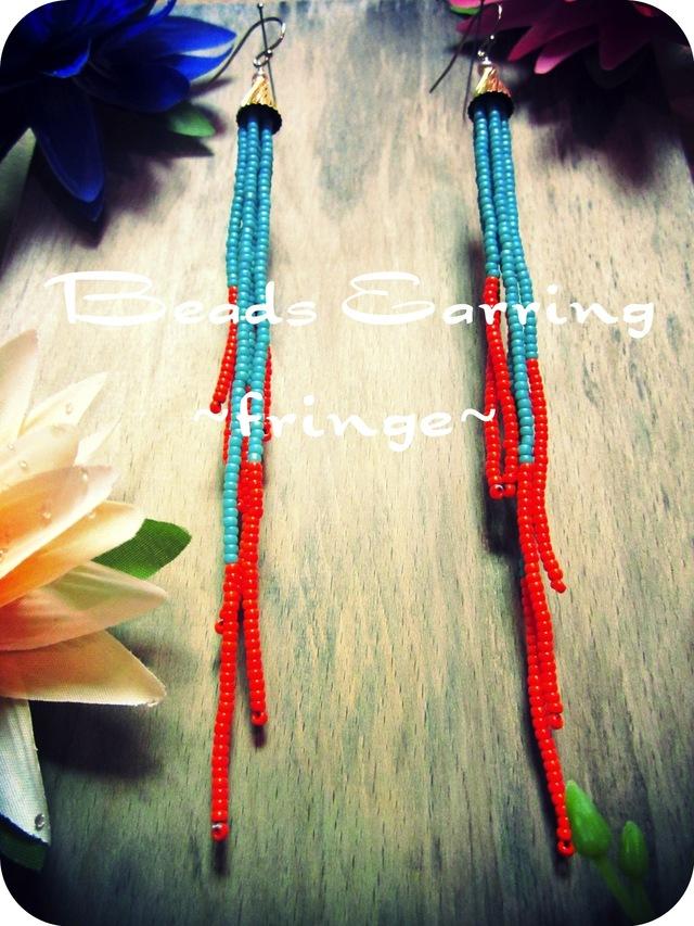 Beads Pierce.   ~ fringe ~   (t/o)