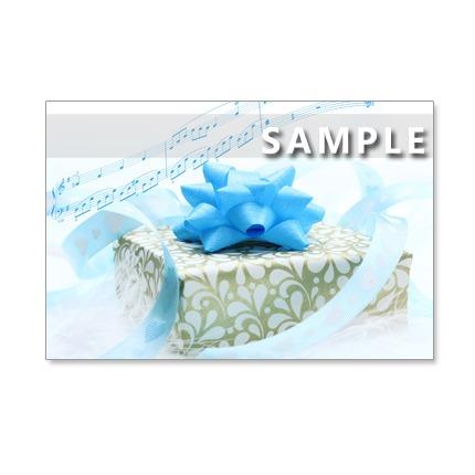 122)Postcard 5枚組 春は素敵なプレゼントがいっぱい!