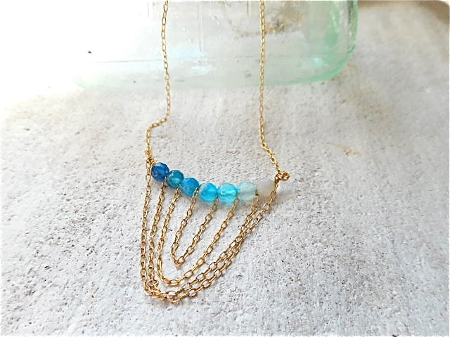 Ocean Gradation Necklace