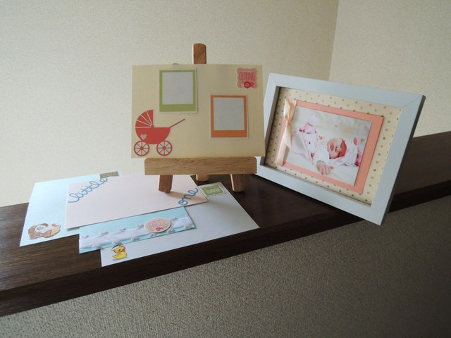 * カード作りに * 写真台紙に * 赤ちゃんの<FIRST>