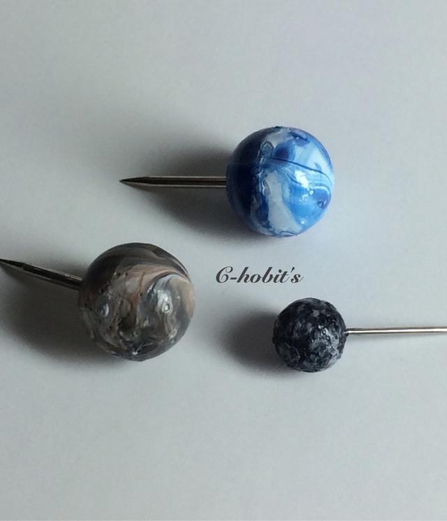 惑星のプッシュピン(Planet of Pushpins)