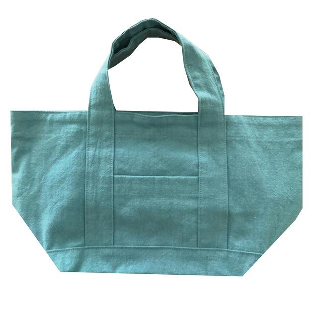 コットンリネン10号帆布のミニトートバッグ