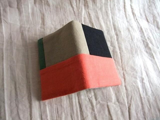 minimini note cover (orange/black)