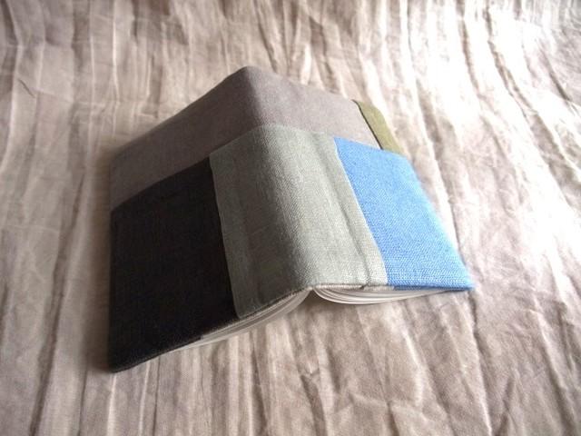minimini note cover (gray/beige)