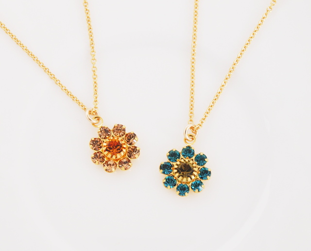 sale 14kgf Vintage Daisyネックレス