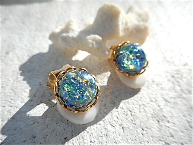 ☆再販☆ Sea Opal イヤリング