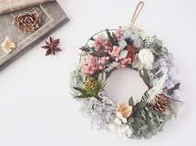 "mini /wreath"" winter"