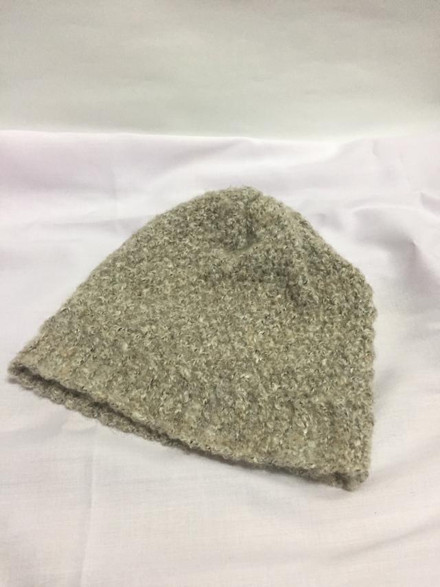 2wayニット帽(子供) ベージュ