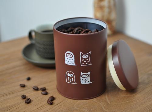ふくろうの珈琲缶(※ 次回の再販は9月予定)