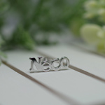 Neco pierced earrings -lb4×Necology-