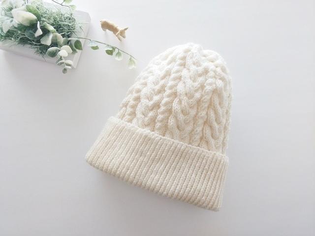 ニット帽(ホワイト)