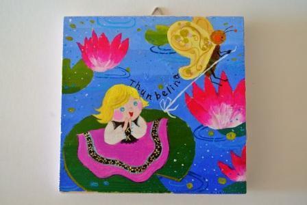 親指姫 壁掛け 童話シリーズ
