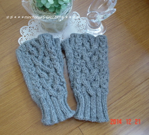���ĥ����֥����ͤΥ���ѥ������Fingerless Mittens����