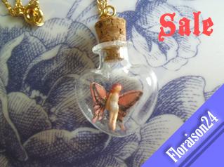 『ハート小瓶の妖精』ネオピンク