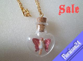 『ハート小瓶の妖精』ピンク