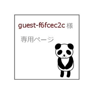 guest-f6fcec2c 様 専用ページ