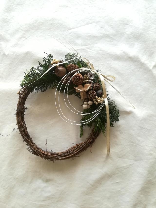 【送料無料】たっぷり木の実と水引のwre...