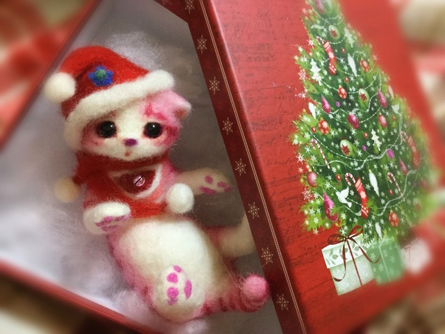 クリスマスにゃんこNo.2