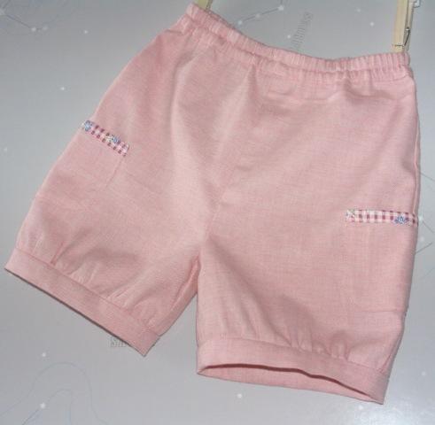 ピンクのかぼちゃパンツ 100cmサイズ