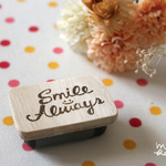 """Smile Always"" STAMP【受注生産】"
