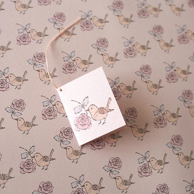 ラッピングペーパー - kotori rose-