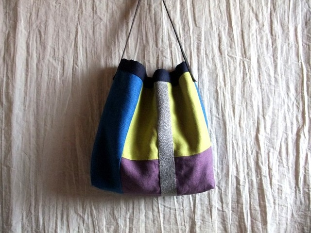 itoiro bag (blue plus)