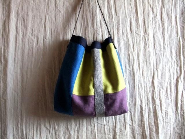 itoiro bag (blue plus)