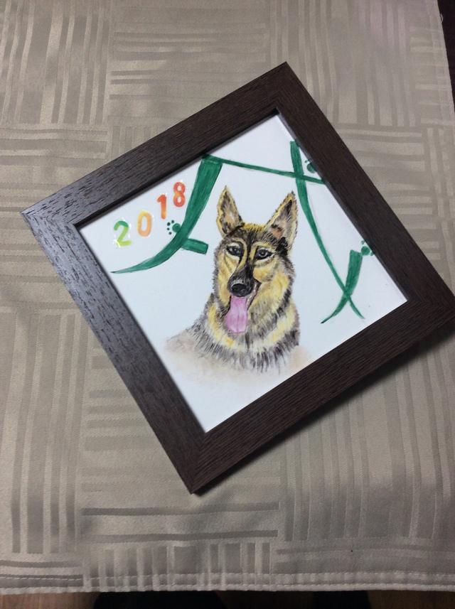 イヤーズプレート(シェパード犬)