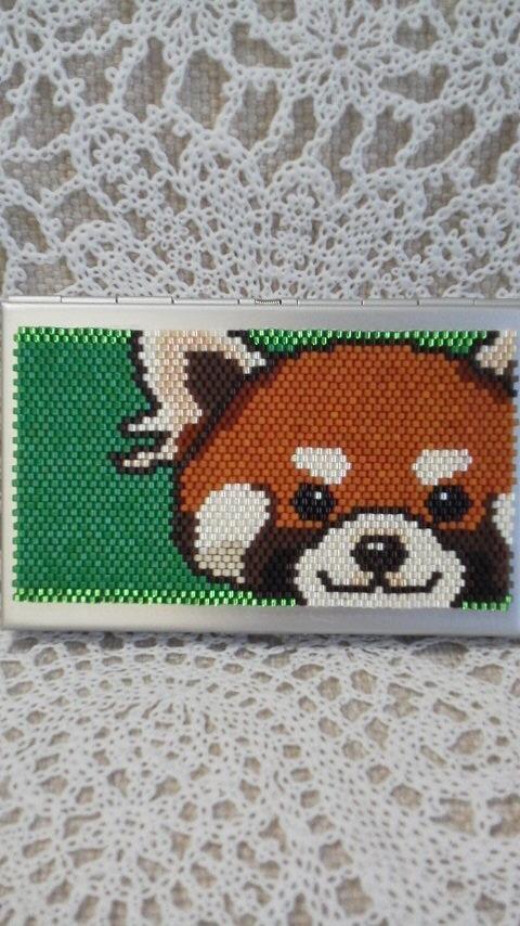 カードケース(レッサーパンダ)