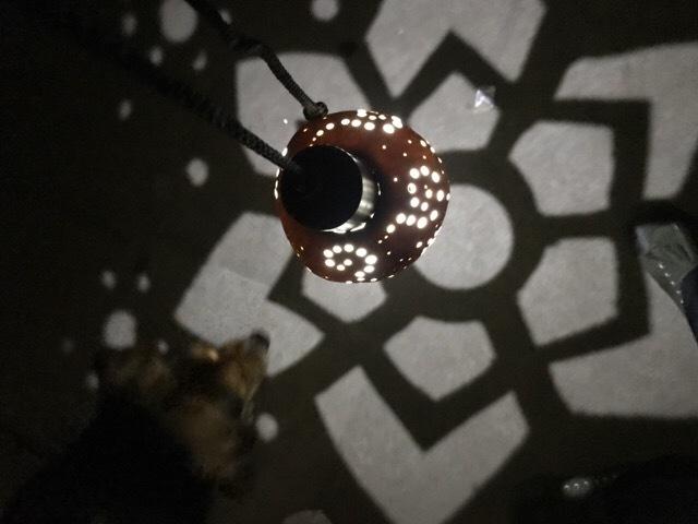 ひょうたんランプ 雪の結晶モチーフ!!...