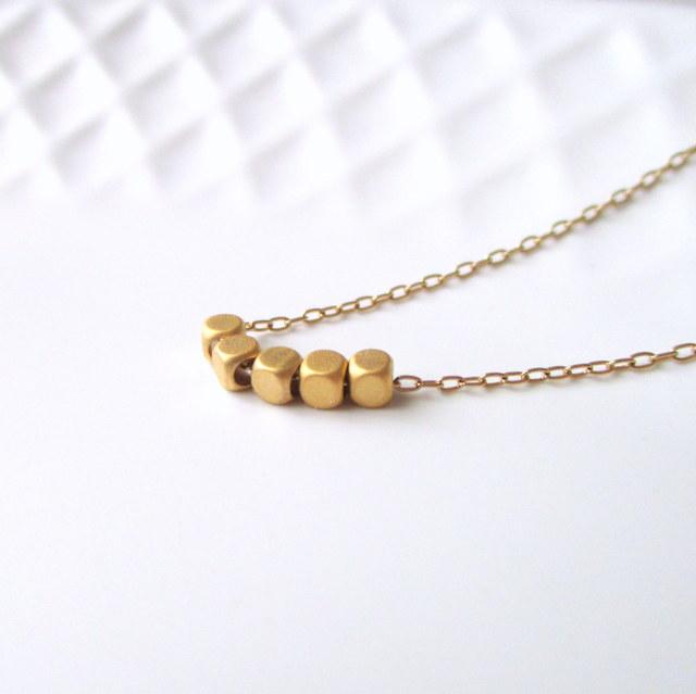 Tiny gold metal・小さなゴールドメタル...