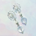 【受注生産】2way Vintage chandelier earrings silver
