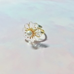 【受注生産②】Vintage chandelier flower ring gold