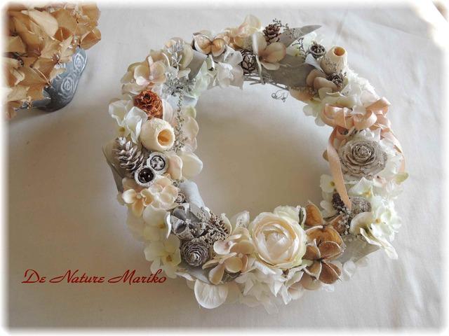 天使が舞い降りた・・・ホワイトSnow Wreath