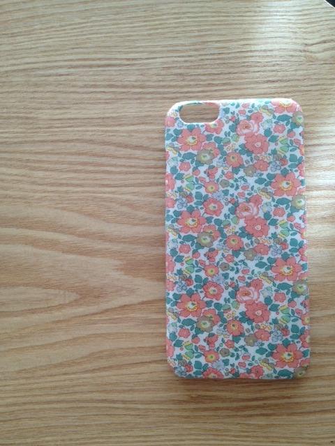 リバティ iphone6プラス ケース5.5インチ(ベッツィアン ピンク