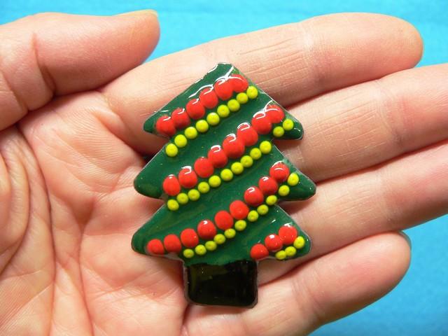 七宝焼のクリスマスツリー