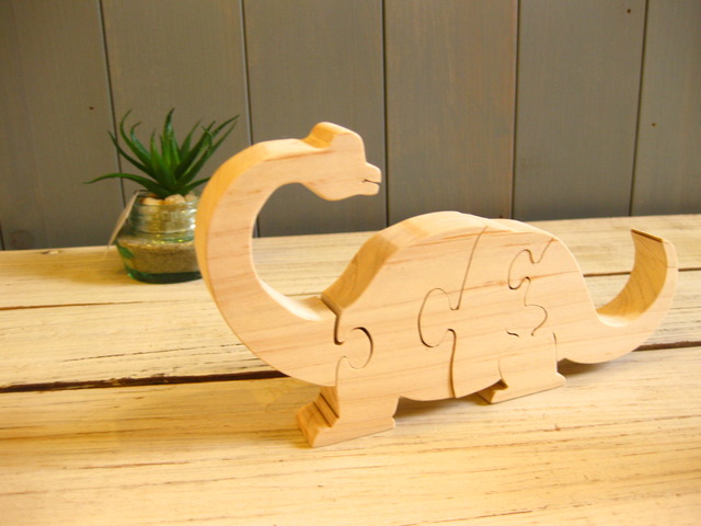 恐竜パズル(04ブラキオサウルス)