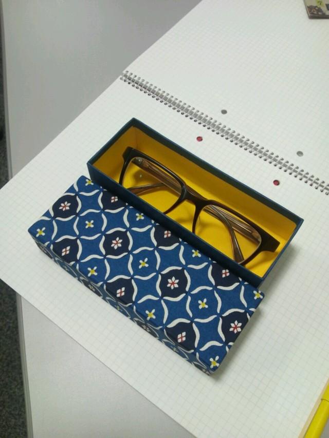 ふ和紙のメガネケース