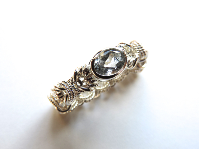 『 Protection ( heart ) 』Ring by SV925