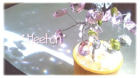 【送料込み】置き型サンキャッチャー【桜】