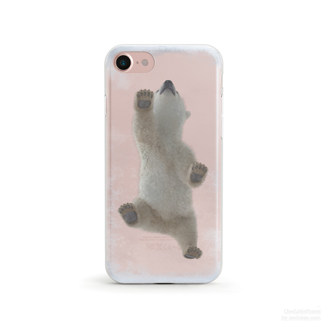 【人気商品】Baby Polar Bear  クリアソフト ケース  [ iPhone5~iPhoneXS, iPhoneXS Max/ XR & Samsung Android ]