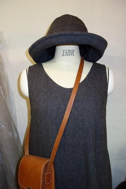 フリーサイズ冬帽子(ブリム長タイプ)
