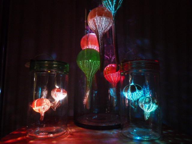 ひょうたんランプ 海月シリーズ2015年版 瓶詰の深海 小瓶バージョン