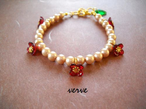Floral decoration Bracelet