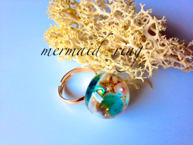 A mermaid's ring