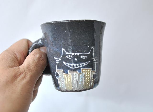猫マチ25丁目の植物工場 マグカップS